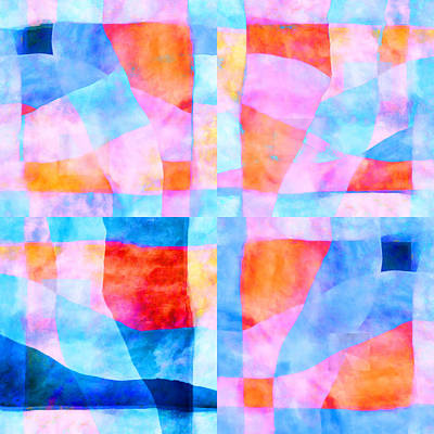 Translucent Quilt Poster by Carol Leigh