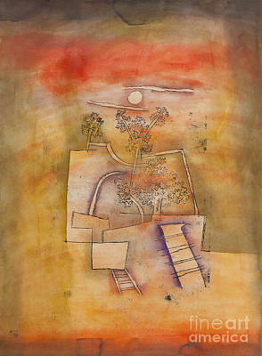 Tree Culture By Paul Klee Poster by Roberto Morgenthaler