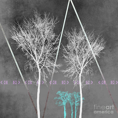 Trees I Poster by PIA Schneider