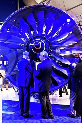 Trent 1000 Jet Engine. Poster by Mark Williamson