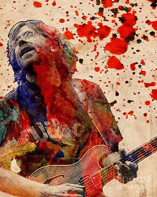 Trey Anastasio - Phish  Poster by Ryan Rock Artist