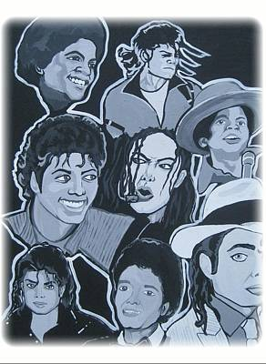 Tribute To Michael Jackson Poster by Gary Niles
