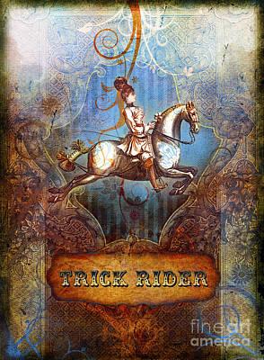 Trick Rider Poster by Aimee Stewart
