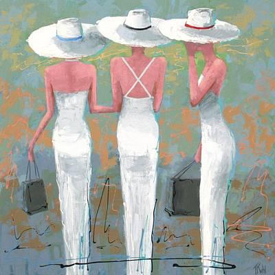 Trio Poster by Thalia Kahl