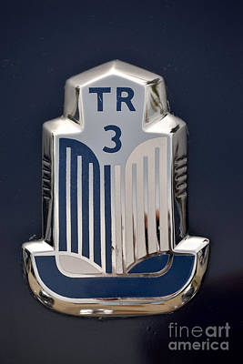 1962 Triumph Tr3 Poster by George Atsametakis