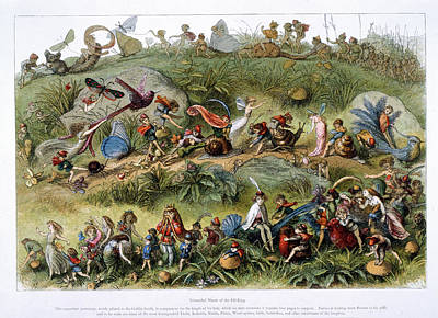 Triumphal March Of The Elf-king Poster by British Library