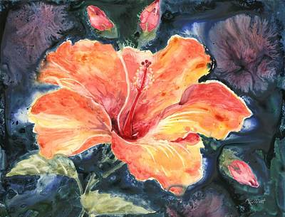 Tropical Explosion Poster by Marsha Elliott