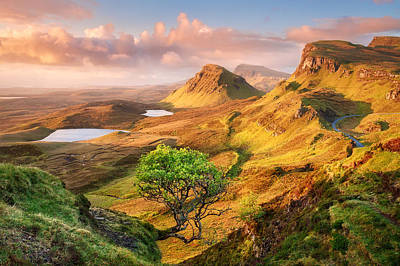 Trotternish Poster by Michael Breitung