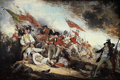 Trumbull, John 1756-1843. The Battle Poster by Everett
