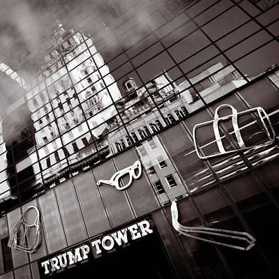 Trump Tower Poster by Dave Bowman