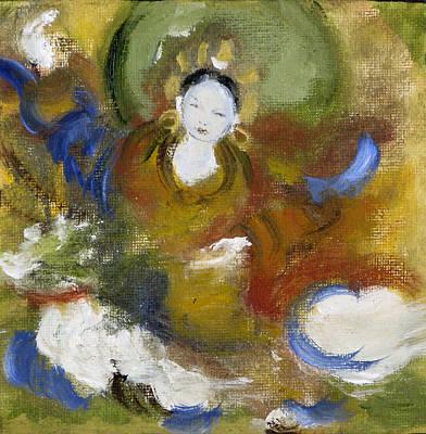 Tseringma Poster by Alma Dankoff