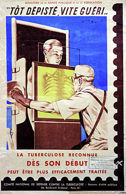 Tuberculosis Screening Poster by Cci Archives
