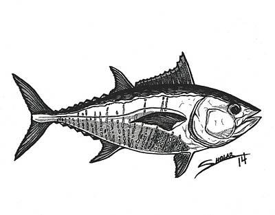 Tuna Poster by Alex Sholar