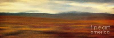 Tundra Autumn Melody Poster by Priska Wettstein