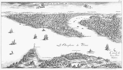 Turkey: Istanbul, 1680 Poster by Granger