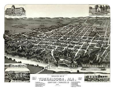 Tuscaloosa - Alabama - 1887 Poster by Pablo Romero