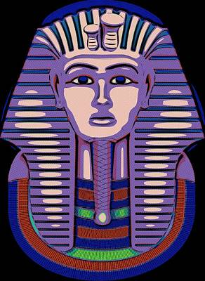 Tutankhamun The Great Poster by Florian Rodarte
