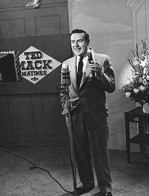 Tv Personality Ted Mack Poster by Underwood Archives