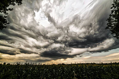 Twisted Sky Poster by Matt Molloy