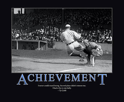Ty Cobb Achievement  Poster by Retro Images Archive