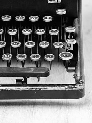 Typewriter Triptych Part 3 Poster by Edward Fielding