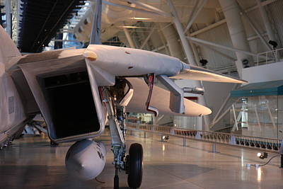 Udvar-hazy Center - Smithsonian National Air And Space Museum Annex - 121239 Poster by DC Photographer