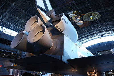 Udvar-hazy Center - Smithsonian National Air And Space Museum Annex - 121272 Poster by DC Photographer