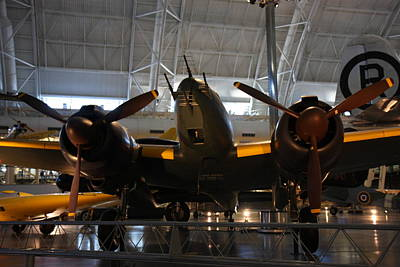Udvar-hazy Center - Smithsonian National Air And Space Museum Annex - 121284 Poster by DC Photographer