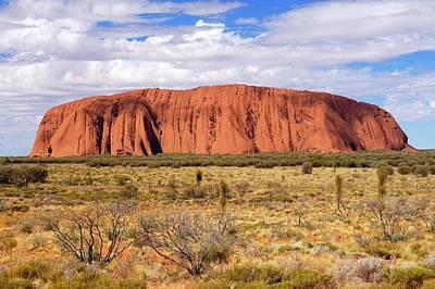 Uluru (ayers Rock) Poster by Bildagentur-online/mcphoto-schulz
