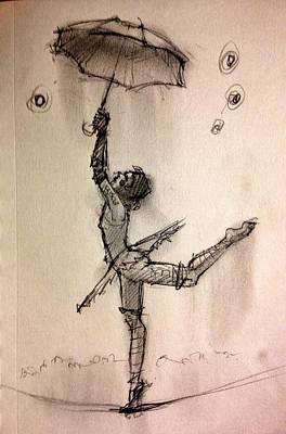Umbrella Poster by H James Hoff
