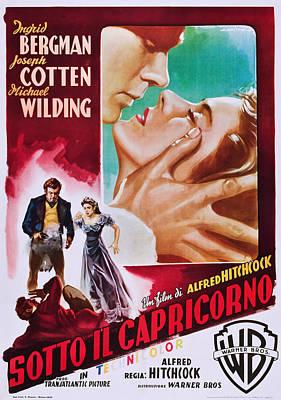 Under Capricorn, Italian Ad Art Poster by Everett