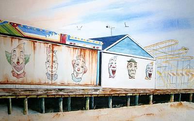 Under The Boardwalk Poster by Brian Degnon