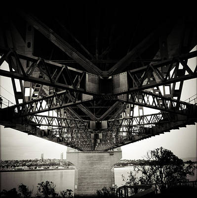 Under The Bridge Poster by Les Cunliffe