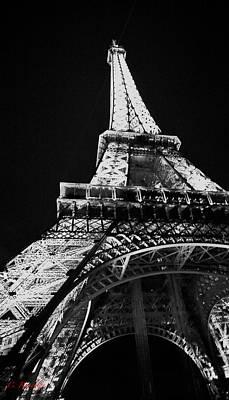 Under The Eiffel Poster by Cheri Randolph