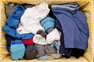 Underwear And Socks Poster by Tom Gowanlock