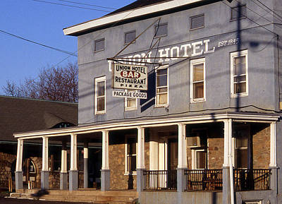 Union Hotel Poster by Skip Willits
