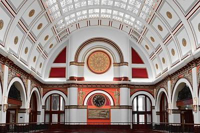 Union Station Nashville Tennessee Poster by Frozen in Time Fine Art Photography