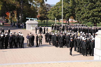 United States Naval Academy In Annapolis Md - 121228 Poster by DC Photographer