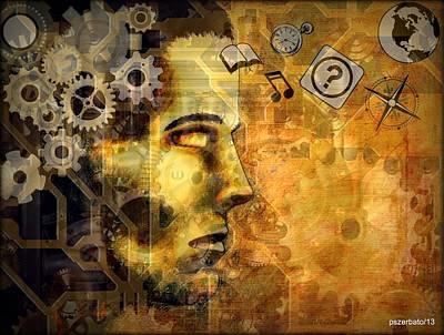 Universal Mechanics Poster by Paulo Zerbato