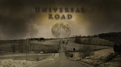 Universal Road Poster by Betsy Knapp