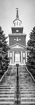 University Of Cincinnati Vertical Panoramic Picture Poster by Paul Velgos