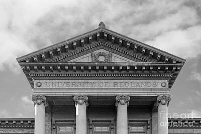 University Of Redlands Administration Building Poster by University Icons