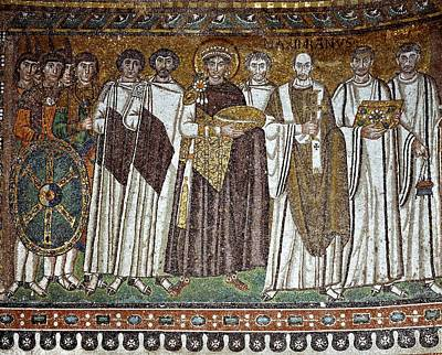 Unknown Artist, The Emperor Justinian Poster by Everett