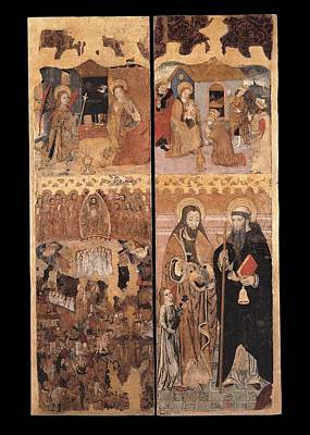Unknown, Retablo Of The Last Judgment Poster by Everett