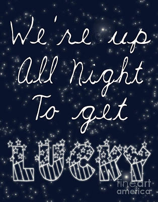 Up All Night Poster by Pati Photography