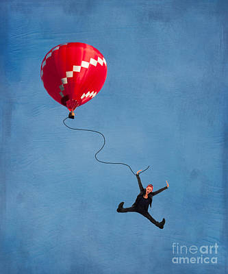 Up Up And Away Poster by Juli Scalzi