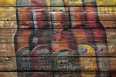 Upper Canada Beer Poster by Joe Hamilton