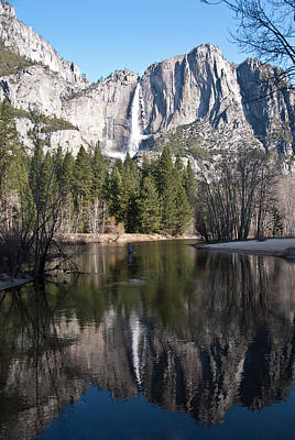 Upper Yosemite Fall Poster by Shane Kelly