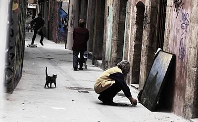 Urban Art Poster by Jose Francisco Segura Mira