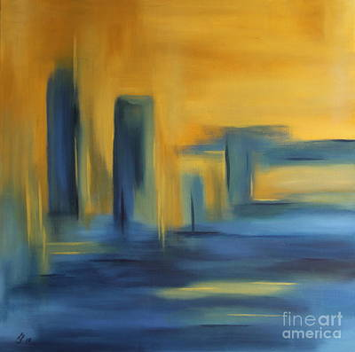 Urban Landscape Poster by Christiane Schulze Art And Photography